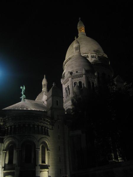 Sacre-Coeur-bei-Nacht